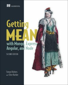 Getting MEAN with Mongo, Express, Angular, and Node, 2nd - Book cover
