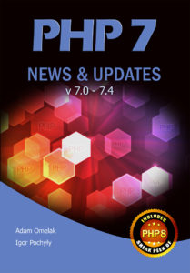 PHP 7 News & Updates v7.0 - 7.4 - Book cover