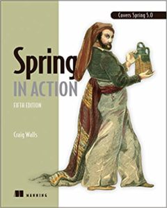 Spring in Action - Book Cover